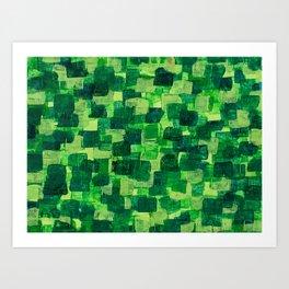 Jade Scales Art Print