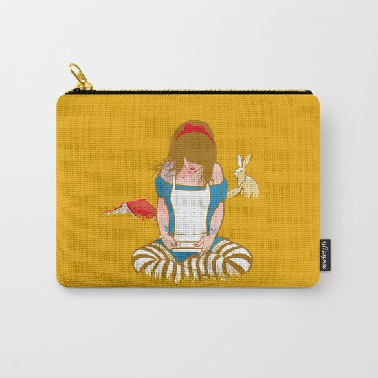 Alice in Mario Land Carry-All Pouch