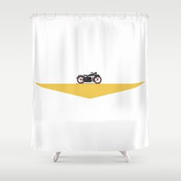 MotoTopia Shower Curtain