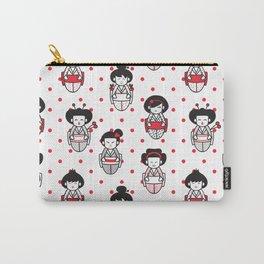 Cartoon Geisha Carry-All Pouch