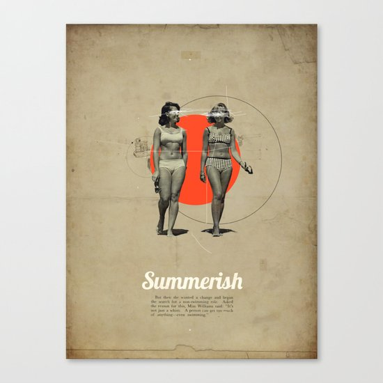 Summerish Canvas Print