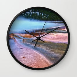 Sulfur Mist Wall Clock