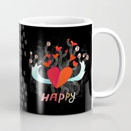 Happy Heart Coffee Mug