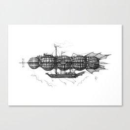Airship 3 Canvas Print