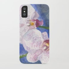 Orchid Gaze iPhone X Slim Case