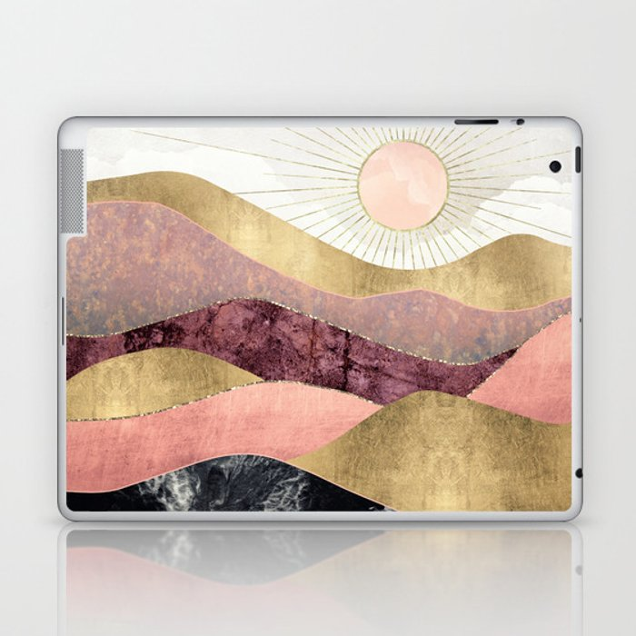 Blush Sun Laptop & iPad Skin