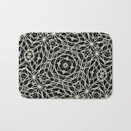 Polygons Pattern Print Bath Mat
