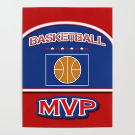 MVP Basketball board Poster