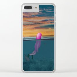 s u b b e Clear iPhone Case