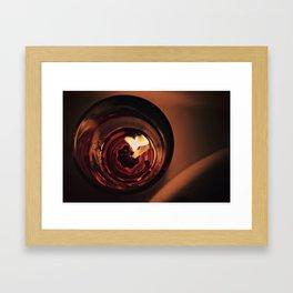 warm set Framed Art Print
