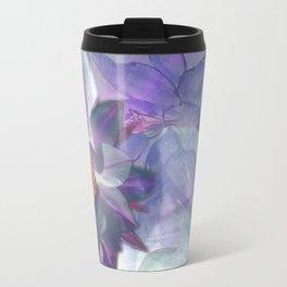 Purple Blossom Travel Mug