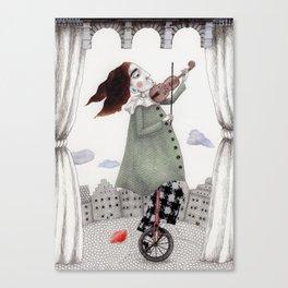 Autumn Concert Canvas Print