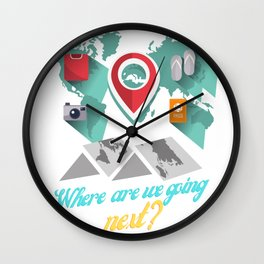 Where are we going next Wall Clock