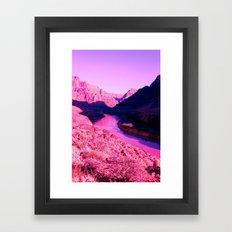 PinkCanyon Framed Art Print