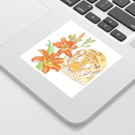 Tiger's Lily Dream Sticker