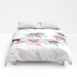 Spring Animals Jungle Safari Comforters