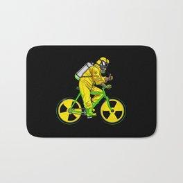 Radioactivity Bike Bath Mat