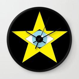 Digital Star Wall Clock