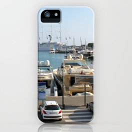 Marinas Of The World (Pt. 1 - Nice, France) iPhone Case