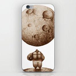 Astronaut's Dream Sketch iPhone Skin
