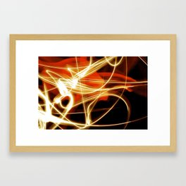 merging light II Framed Art Print