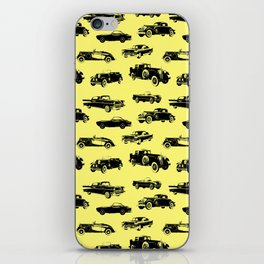 Classic Cars // Yellow iPhone Skin