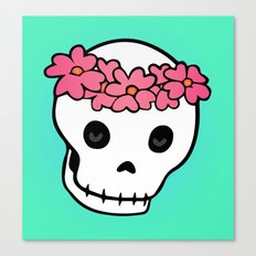Princess Skull ver.2 Canvas Print