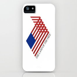 """""""The Land of the Free"""" iPhone Case"""