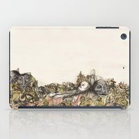 soviet iPad Cases featuring Soviet Monuments by Jess Worby
