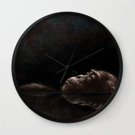 Chimp Tank Wall Clock