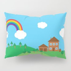 We Love This Place Pillow Sham