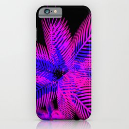 Black Light Plant iPhone Case