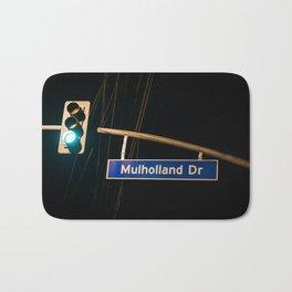 Mulholland Drive Bath Mat