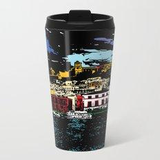Ibiza Town Metal Travel Mug