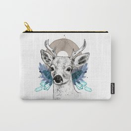 The Deer (Spirit Animal) Carry-All Pouch