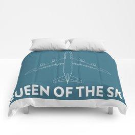 Boeing 747 8 Queen of the sky Comforters
