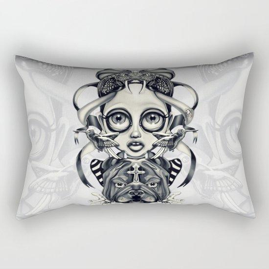"""Tattoeums III"" Rectangular Pillow"