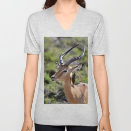 Wildlife Gossip Unisex V-Neck