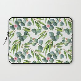 Bamboo and eucaliptus pattern Laptop Sleeve