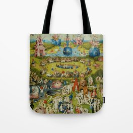 """Hieronymus Bosch """"The Garden of Earthly Delights"""" Tote Bag"""
