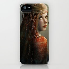 Princess from the East iPhone Case