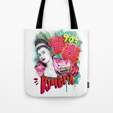 Kimbra 90s Music Tote Bag
