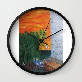 Life searches and...( Continue) Wall Clock