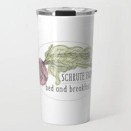 schrute b&b Travel Mug