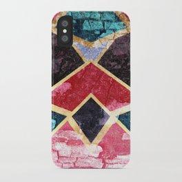 Geometric Texture iPhone Case