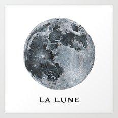 La Lune Art Print