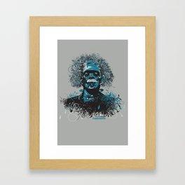 Frank Einstein Framed Art Print