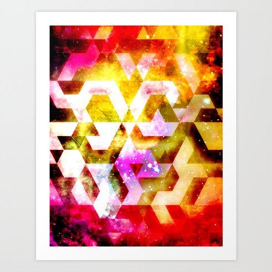 UNIVRANGLE Art Print