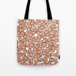 Bandage - Healing Power - On the Mend Tote Bag