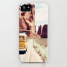Endless Explore to the World iPhone Case